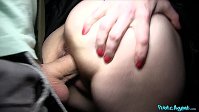Close up public sex for money with Mila screwed by a church