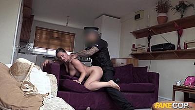 Doggy slamming fantastic lonely housewife Olga