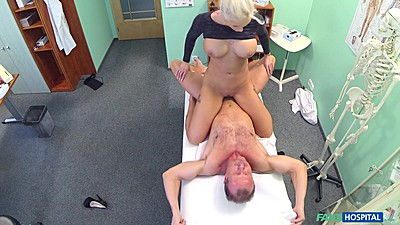 Sex craved milf is fucking the crap out of doctor