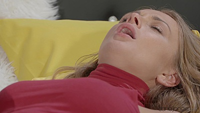 Very aroused skinny Ivana Sugar getting touched