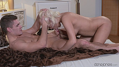 Lucy enjoys a romantic couples fuck with oral and cowgirl