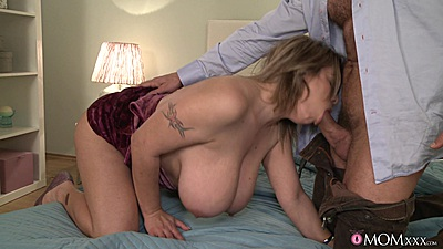 Huge mom Silvy is a single milf with cock desire