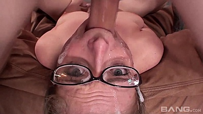 Face fucked in reverse deep throat with gagging Penny Pax