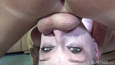 deep reverse throat