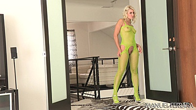 Bts lingerie show with Anikka Albrite