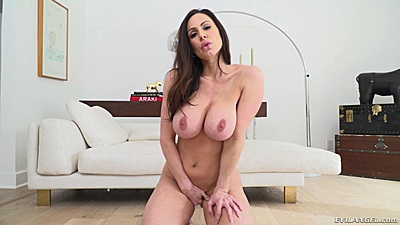 Big boobs milf Kendra Lust solo self touching