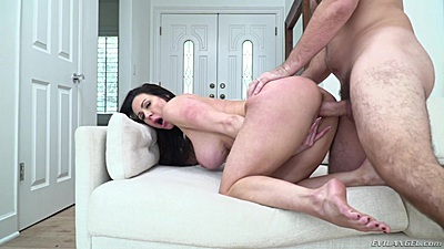 Overwhelming large juggs milf Kendra Lust dogged