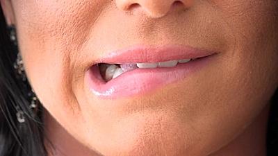 Close up sexy lips Romi Rain show her nice big ass