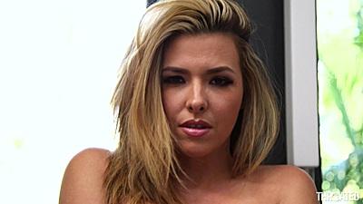 Super hot babe Danica Dillon is naughty when solo
