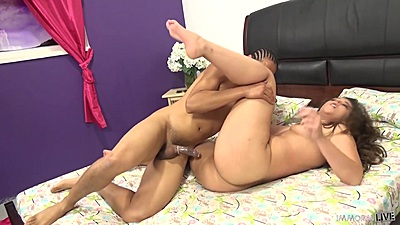Bursty hardcore interracial pussy eating and intercourse with Kate Alton