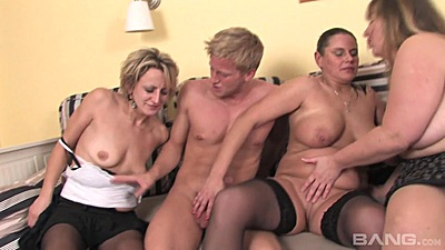 Mature group with some amateur