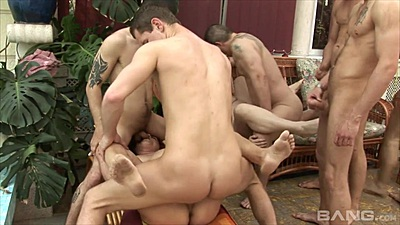 Mature group orgy with mommy playing some poker