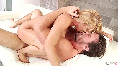 Dick grinding and tits in the face stacked milf Alexis Fawx