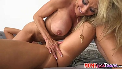Passionate lesbian fingering and more with Cali Sparks and Brandi Love