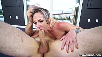 Rough sex head pushed down for deep throat from yoga practice nice butt Jada Stevens
