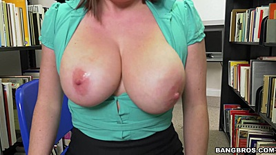 Very aroused milf Maggie Green is a very horny librarian