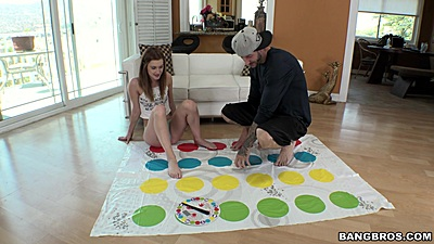 Playing a game with 18 year old teen Alaina Dawson