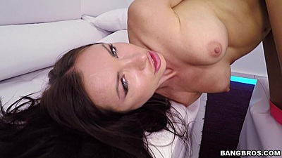 Firm tits brunette Sasha Rose is a Russian princess