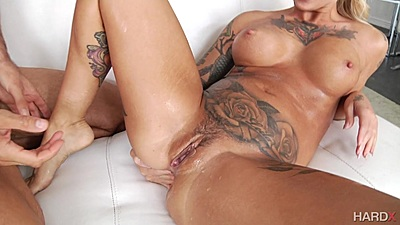 Kleio Valentien is a non stop squirt doing anal as well
