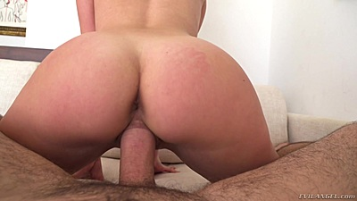 Pov nice round ass reverse cowgirl pussy sex Brett Rossi