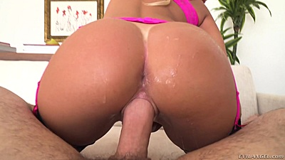 Beautiful round ass pov big dick vaginal fuck from August Ames