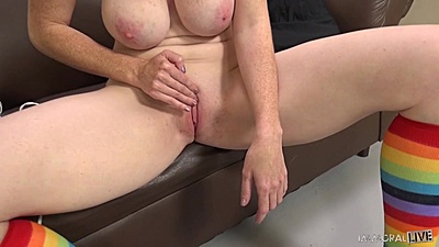 Masturbation and fingering with Bella Maree becoming the real woman