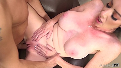 Playful girl Bella Maree front pussy intercourse