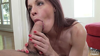 Jasmine Wolff petite and big dick in her mouth