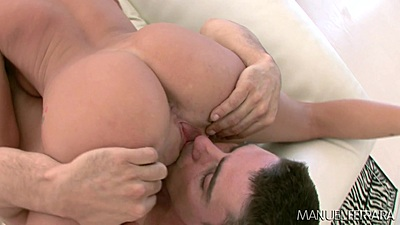 Nice lively ass slut Tanner Mayes 69 and reverse cowgirl