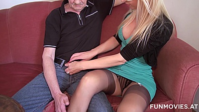 Appealing fully clothed Susi Müller needs another cock