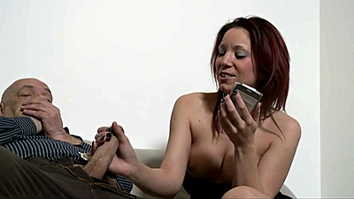 Obsessed with dicks Natalie Hot deep throats right off the bad