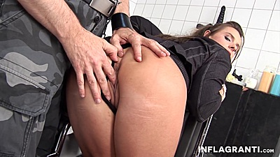 Ass fingering and medical enema insertion into ass with Susanne B