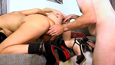 Fingering two nice ladies Samy Fox and Natalie Hot