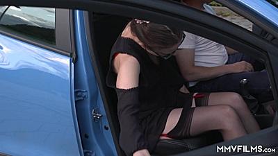 Driving a cab with Valeria Jones in public