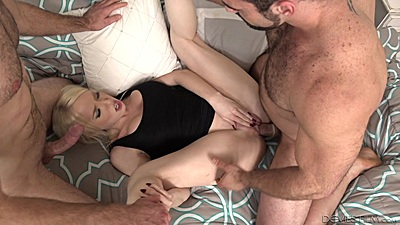 Enticing heated girl in gang bang Trillium