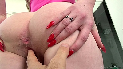 Ass fingering and sucking that dick Miley May in pov