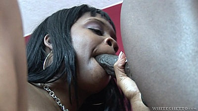 Ebony girl Brown Sugar A cock sucking and sex