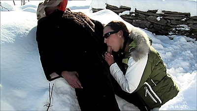 Dick sucking with the yeti Sabrina Sweet