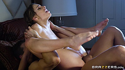 Flexible rough sex family friend pounding with Kimmy Granger