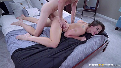 Rear entry plowing of very wet and creamed Dani Daniels