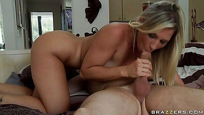 Big round ass Devon sitting on dick humping hard