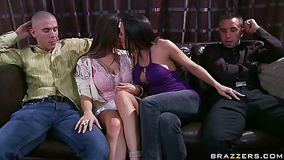 Rachel joins some wife swapping action