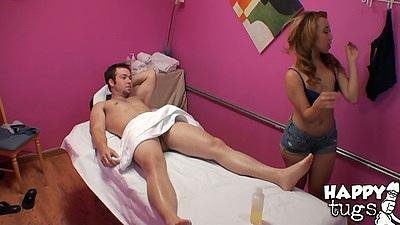 Massage time with asian chick Mandi Miami