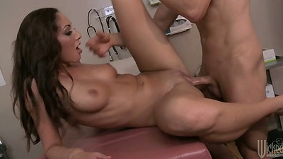 Front penetration with great body medium tits Angelica Saige