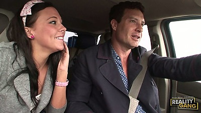 Driving around with teen Ivy Winters after picking up hitchhiker