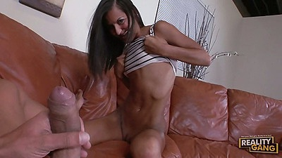 Pov big dick blowjob with Cassidy Morgan and doggy styl sex