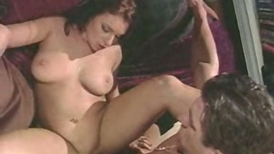 Shaved pussy front sex with Melanie Jagger