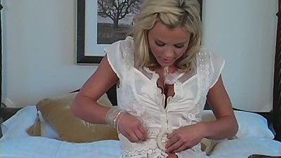 Undressing solo teen Bree Olson from the day she was young