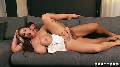 Sideways fuck big tits latina milf Eva Notty with tits out