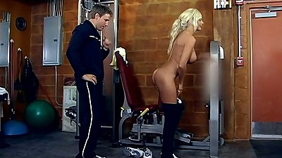 Puma Swede a sporty milf prepares for her cock workout naked